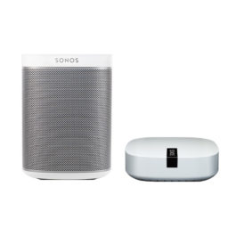 SONOS PLAY:1 BOOST Bundle weiß