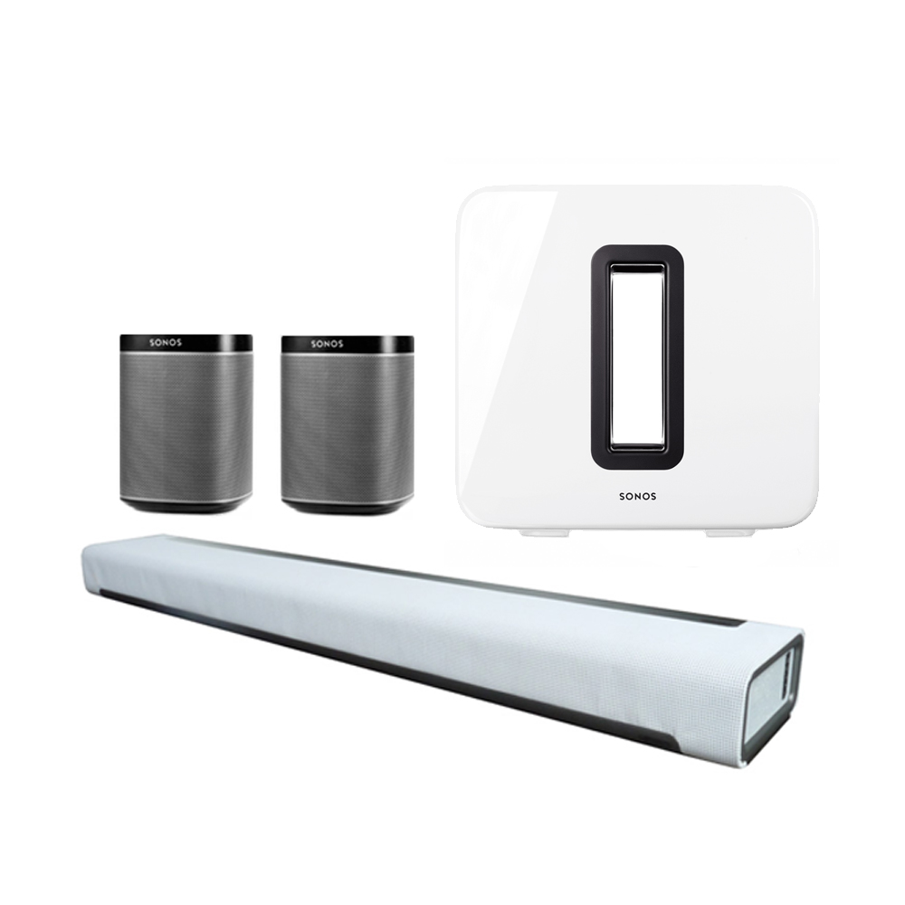 sonos play:1 5.1 surround bundle | luxusschall sonos shop, Badezimmer ideen