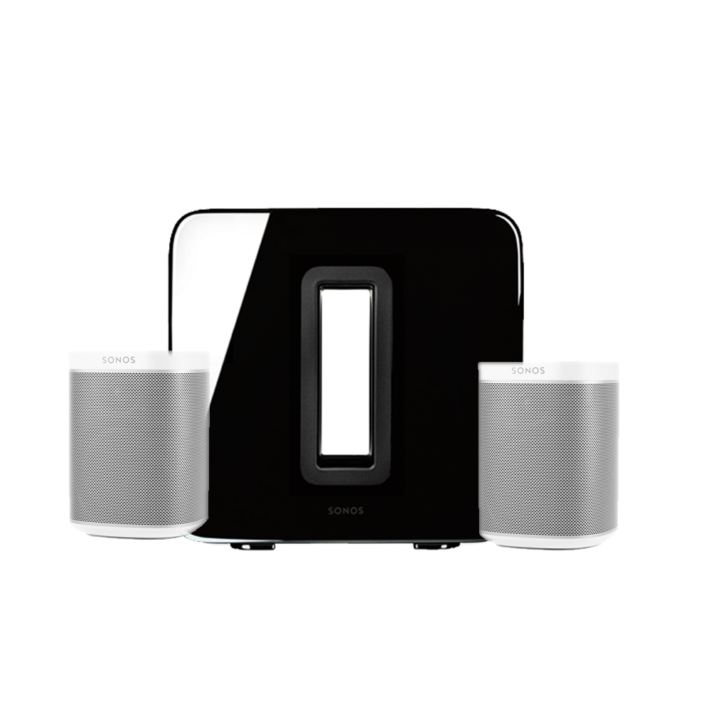2 * sonos play:1 sub bundle | luxusschall sonos shop, Badezimmer ideen