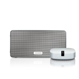 SONOS PLAY:3 Boost Bundle weiß