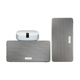 SONOS PLAY:3 Stereo BOOST Bundle weiß