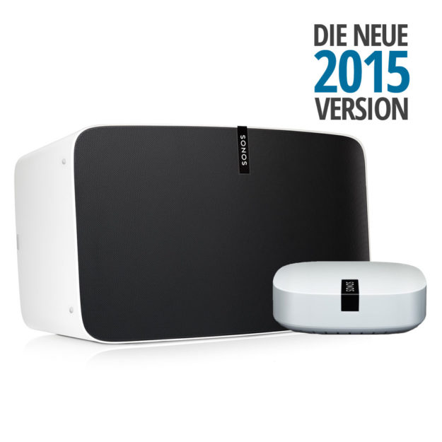 SONOS PLAY:5 (2015 Version) BOOST Bundle weiß