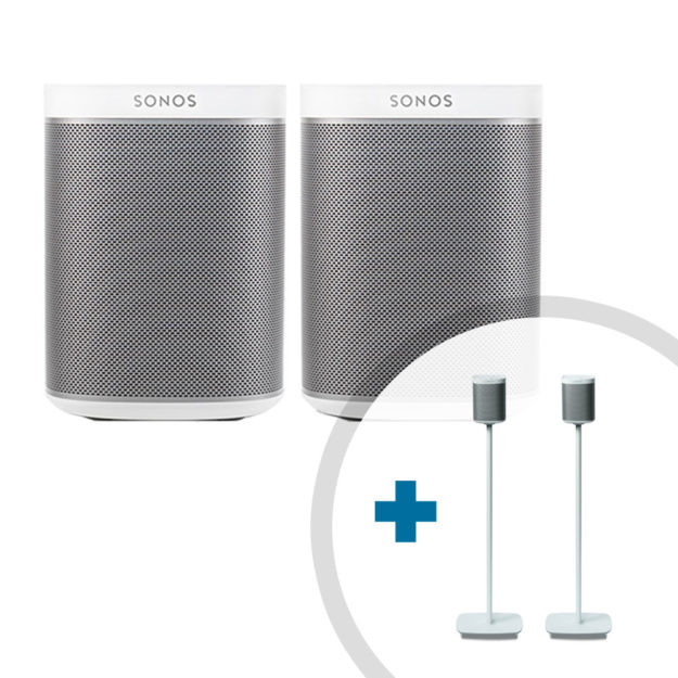 SONOS PLAY:1 Rearsound Bundle weiß
